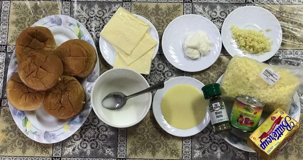 Korean Garlic Bread Versi Roti Burger